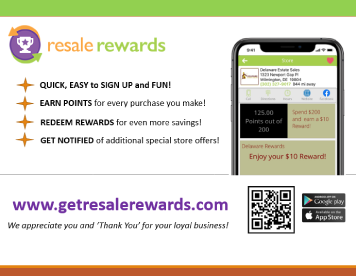 Delaware Estate Sales Resale Rewards Program